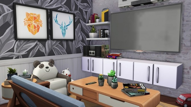 SINGLE DAD W/ ONE DAUGHTER APARTMENT at Aveline Sims image 2015 670x377 Sims 4 Updates