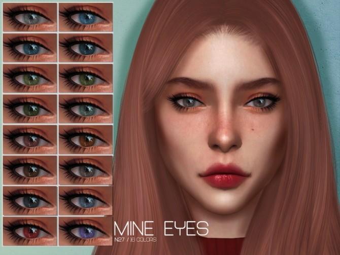 Sims 4 LMCS Mine Eyes N27 by Lisaminicatsims at TSR