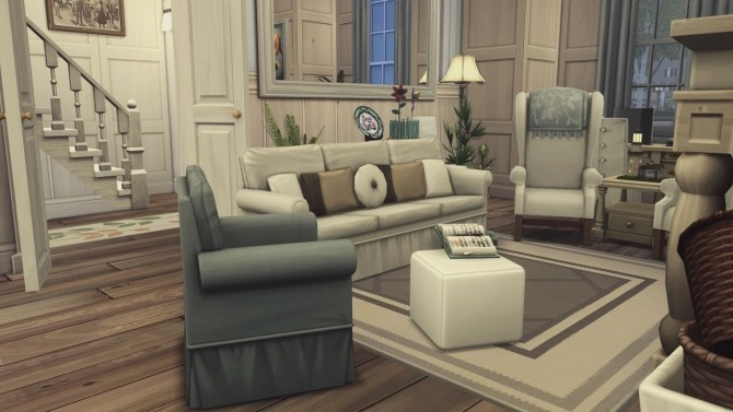 Sims 4 British Family House at Harrie