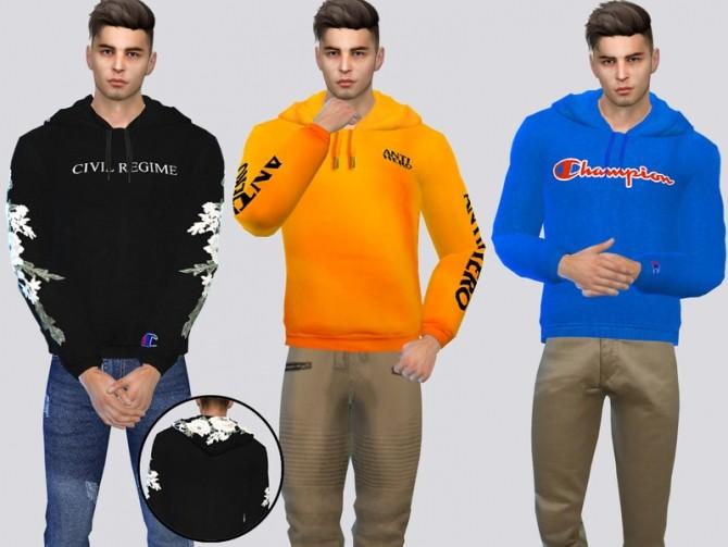 Sims 4 Skate Fashion Hoodie by McLayneSims at TSR