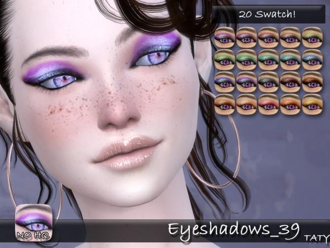 Eyeshadows 39 by tatygagg at TSR image 2115 670x503 Sims 4 Updates