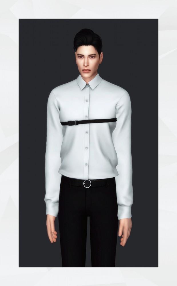 Sims 4 Strapped Shirt at Gorilla