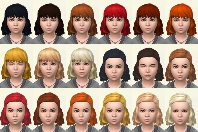 Jackie hair recolors by Delise at Sims Artists image 2171 670x447 Sims 4 Updates