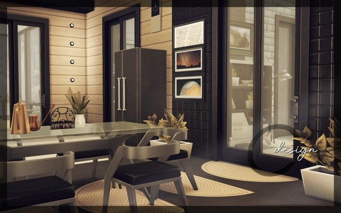Sims 4 Destroyer house by Praline at Cross Design