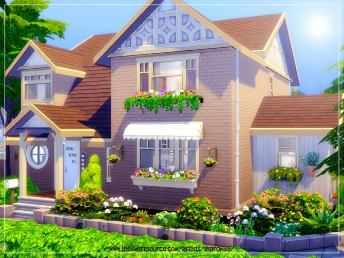 Sims 4 Brook House Nocc by sharon337 at TSR