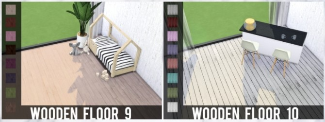 Sims 4 WOODEN FLOOR at MODELSIMS4