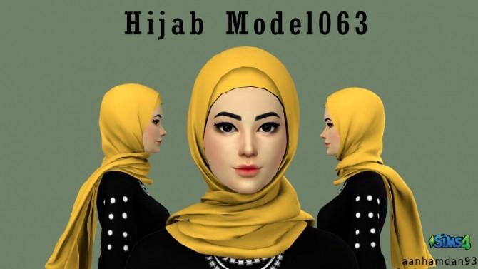 Sims 4 Hijab Model063 & 064 With Sista SET at Aan Hamdan Simmer93