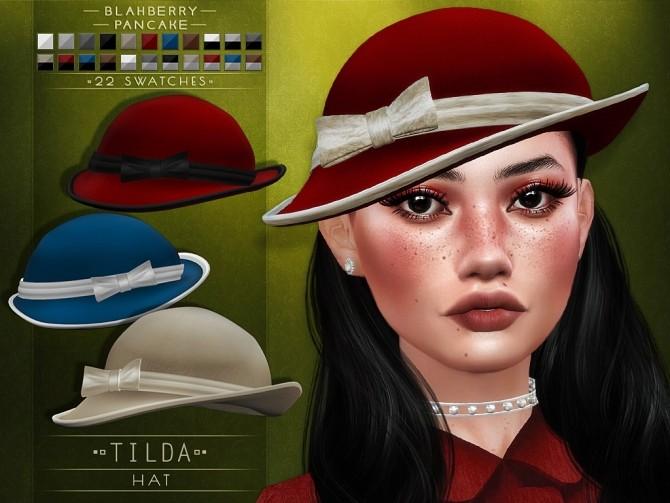 Tilda hat at Blahberry Pancake image 2452 670x503 Sims 4 Updates