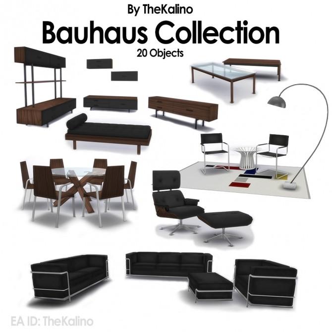 Bauhaus Collection at Kalino image 25110 670x670 Sims 4 Updates