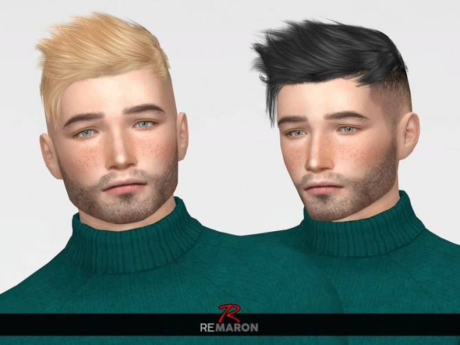 Sims 4 TZ0224 Hair Retexture by remaron at TSR