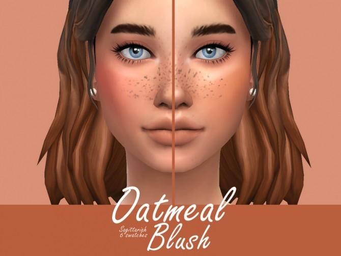 Sims 4 Oatmeal Blush by Sagittariah at TSR