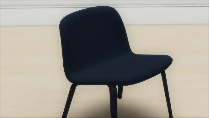 Sims 4 VISU LOUNGE CHAIR (UPHOLSTERED) at Meinkatz Creations