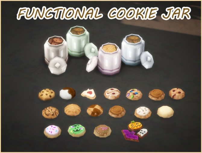 FUNCTIONAL COOKIE JAR at Icemunmun image 258 670x507 Sims 4 Updates