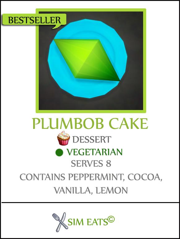 PLUMBOB CAKE at Icemunmun image 2582 Sims 4 Updates
