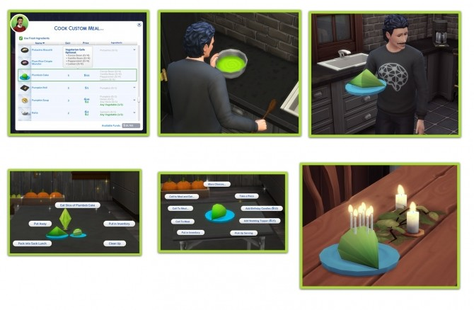 PLUMBOB CAKE at Icemunmun image 2592 670x438 Sims 4 Updates