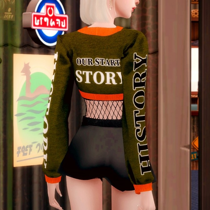 Short Knit & Leather Shorts at RIMINGs image 2701 670x670 Sims 4 Updates