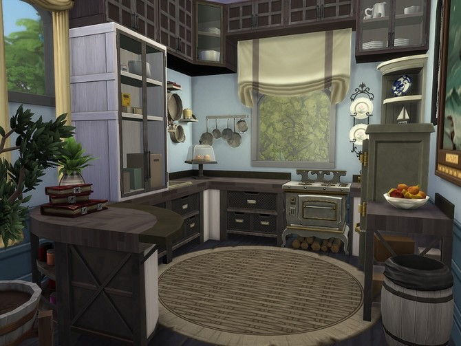 Sims 4 Little Castle by Ineliz at TSR