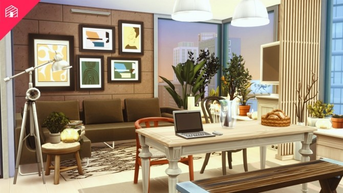 Hipster Hygge Apartment at Harrie image 2732 670x377 Sims 4 Updates