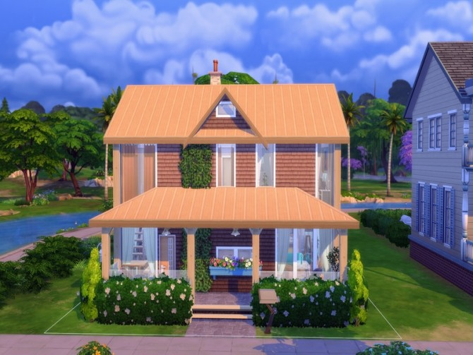 Cozy Urban Home by LJaneP6 at TSR image 282 670x503 Sims 4 Updates