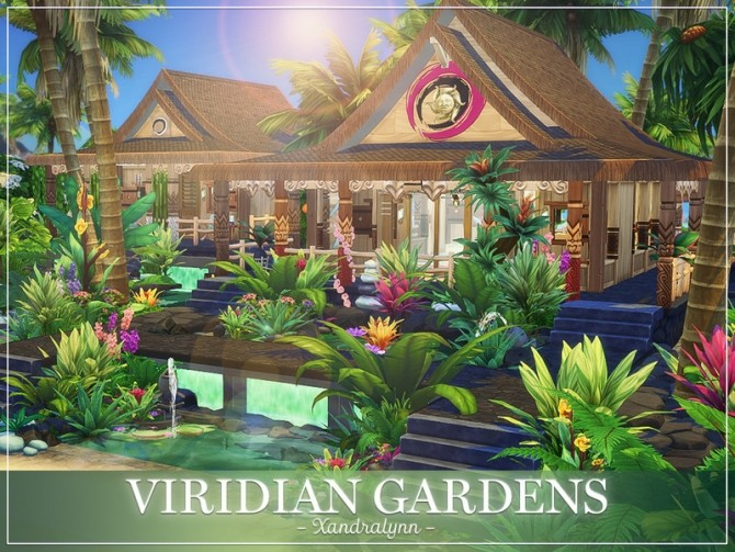 Viridian Gardens by Xandralynn at TSR image 2820 670x503 Sims 4 Updates