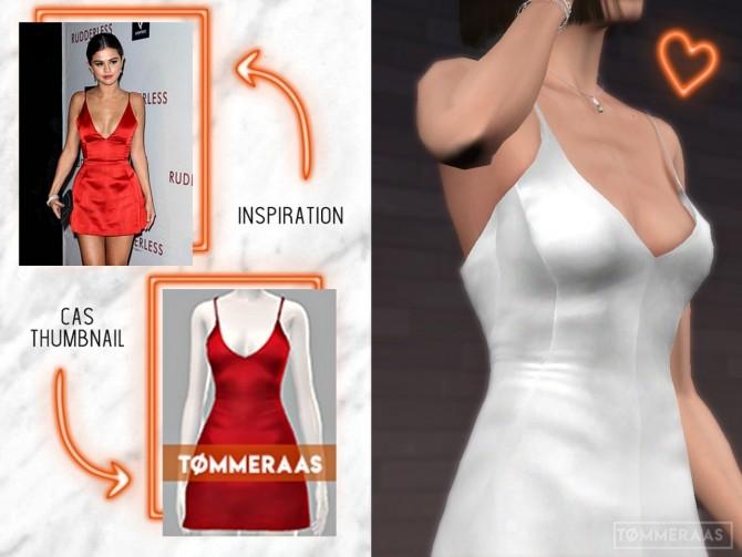Selena Satin Dress at TØMMERAAS image 2852 670x503 Sims 4 Updates