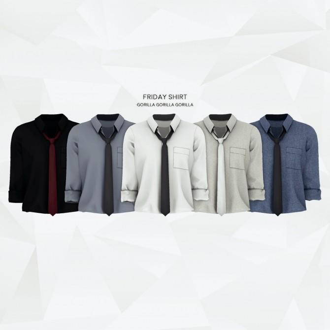 Friday Shirt at Gorilla image 2861 670x670 Sims 4 Updates