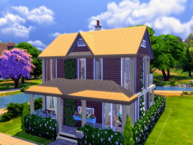 Cozy Urban Home by LJaneP6 at TSR image 292 670x503 Sims 4 Updates