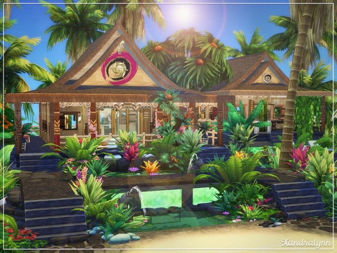 Viridian Gardens by Xandralynn at TSR image 2920 670x503 Sims 4 Updates