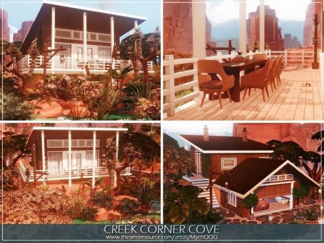 Sims 4 Creek Corner Cove by MychQQQ at TSR