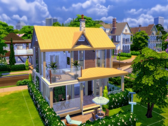 Cozy Urban Home by LJaneP6 at TSR image 302 670x503 Sims 4 Updates