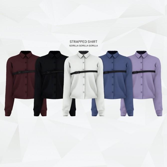 Strapped Shirt at Gorilla image 3121 670x670 Sims 4 Updates