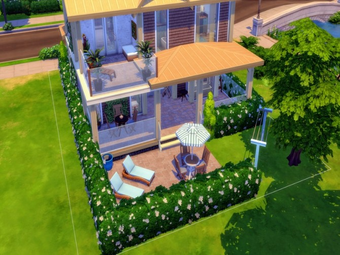 Cozy Urban Home by LJaneP6 at TSR image 313 670x503 Sims 4 Updates