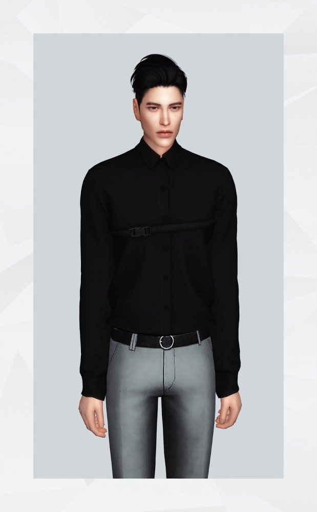 Strapped Shirt at Gorilla image 3131 619x1000 Sims 4 Updates