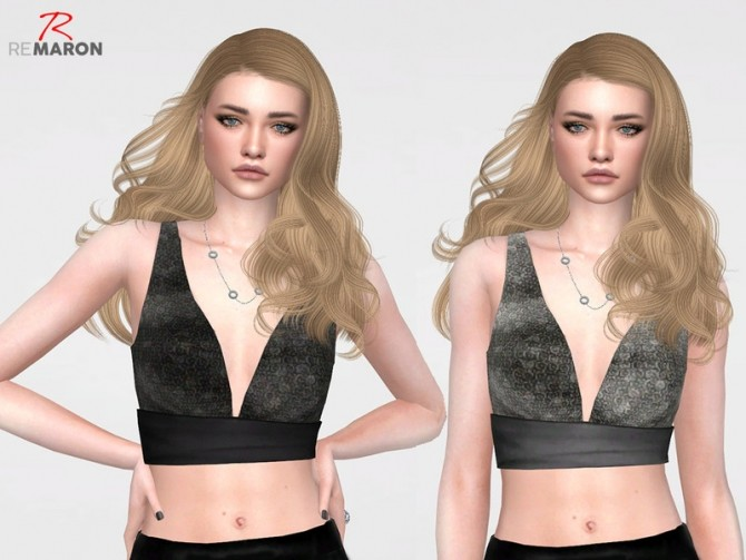 Sims 4 Cropped Fashion for Women 01 by remaron at TSR