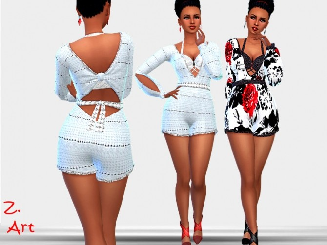 Fashionable suit by Zuckerschnute20 at TSR image 371 670x503 Sims 4 Updates