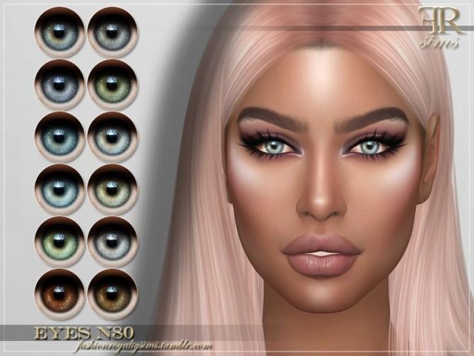Sims 4 FRS Eyes N80 by FashionRoyaltySims at TSR