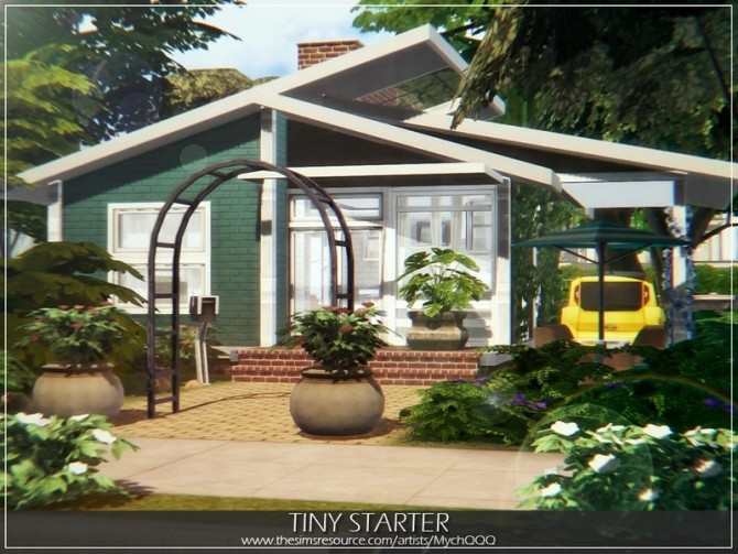 Tiny Starter house by MychQQQ at TSR image 3815 670x503 Sims 4 Updates