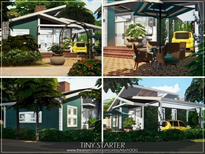 Tiny Starter house by MychQQQ at TSR image 3915 670x503 Sims 4 Updates