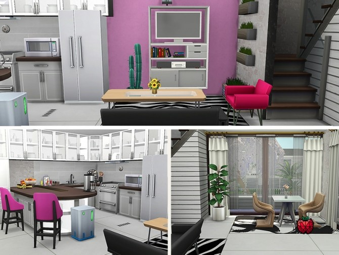 Sims 4 Wendy house no cc by melapples at TSR