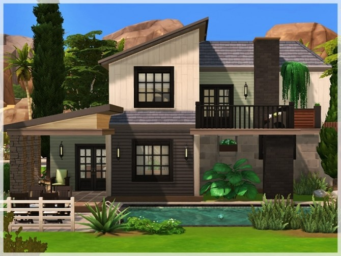 Sims 4 Jefferson house by Ray Sims at TSR