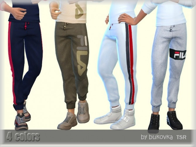 Male Pants by bukovka at TSR image 4016 670x503 Sims 4 Updates