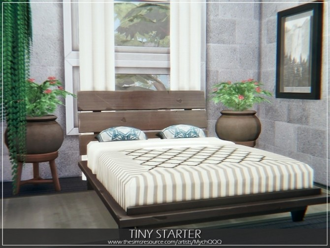 Tiny Starter house by MychQQQ at TSR image 4119 670x503 Sims 4 Updates