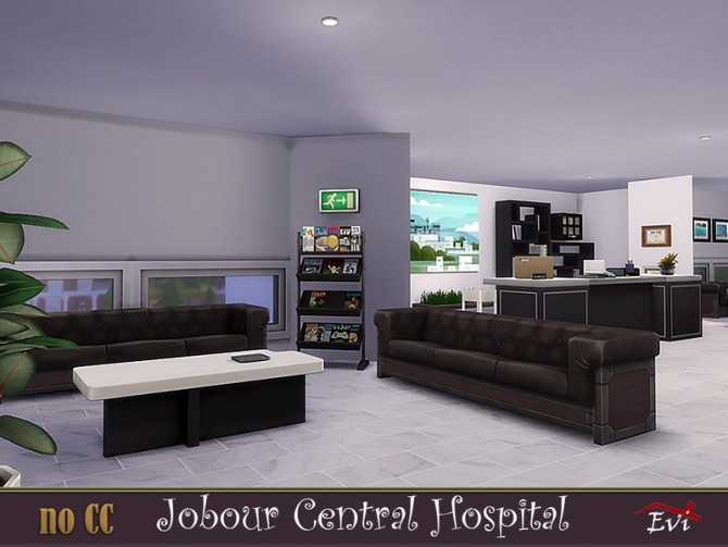 Jobour Central Hospital by evi at TSR image 4126 670x503 Sims 4 Updates