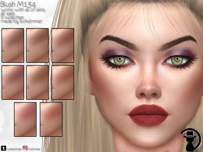Sims 4 Blush M134 by turksimmer at TSR