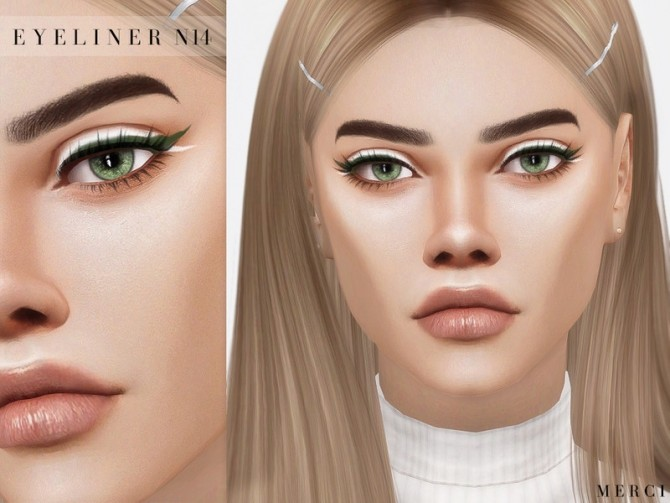 Eyeliner N14 by Merci at TSR image 4223 670x503 Sims 4 Updates