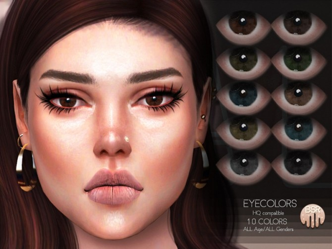Sims 4 Eyecolors BES20 by busra tr at TSR