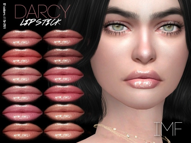Sims 4 IMF Darcy Lipstick N.247 by IzzieMcFire at TSR