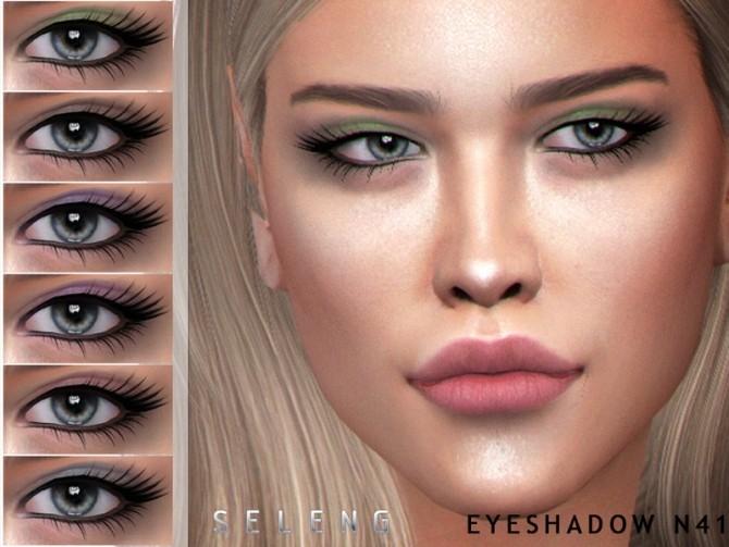 Sims 4 Eyeshadow N41 by Seleng at TSR
