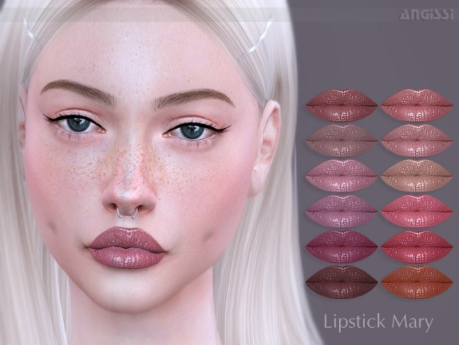 Mary lipstick by ANGISSI at TSR image 4420 670x503 Sims 4 Updates