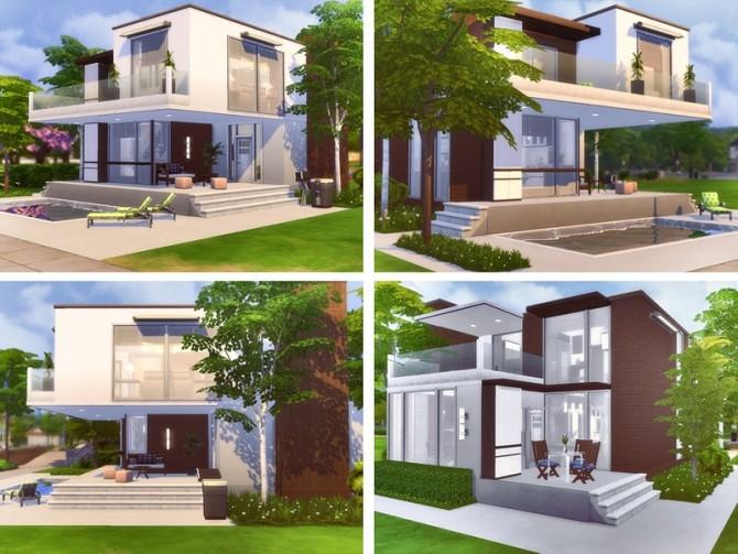 Sims 4 Inga house by Rirann at TSR